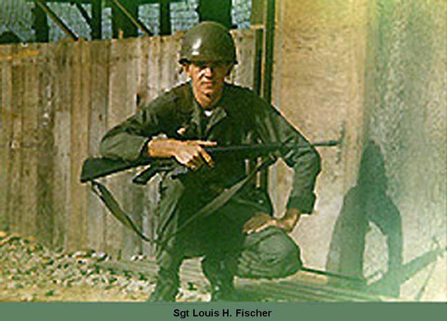 Sgt Louis H. Fischer, KIA 31 Jan 1967, Tan Son Nhut AB, South Vietnam.