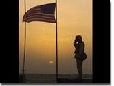 SFS Sunset IRAQ Salute