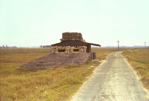 8. Tan My, Loran Station. Perimeter Tower. Det-1. Photo by: Michael Douglas, DN, 366th SPS; DET/TMY. 1971-1972.