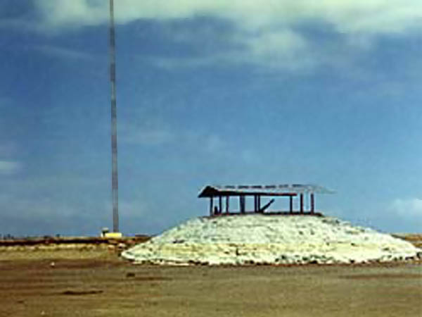 10. Tan My, Loran Station. Tower Bunker. Det-1. Photo by: unknown.