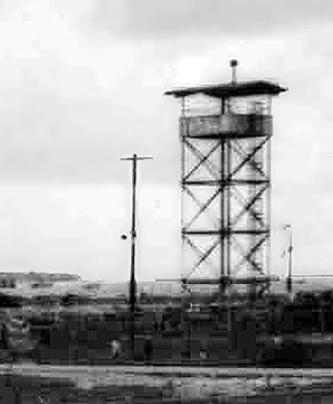 9. Tan My, Loran Station. Tower. Det-1. 1972. Photo by: Michael Douglas, 1972.