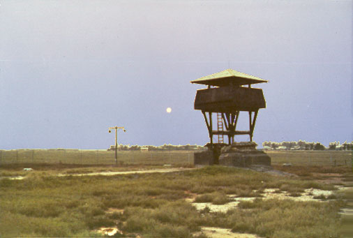 5. Tan My, Loran Station. Perimeter Tower. Det-1. Photo by: Michael Douglas, DN, 366th SPS; DET/TMY. 1971-1972.