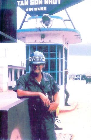15. Tan Son Nhut AB, Air Police Gate Post. Photo by: Ed Smith (Jack the Old Cowboy), LM 453, TSN, 377th SPS. 1968-1969.