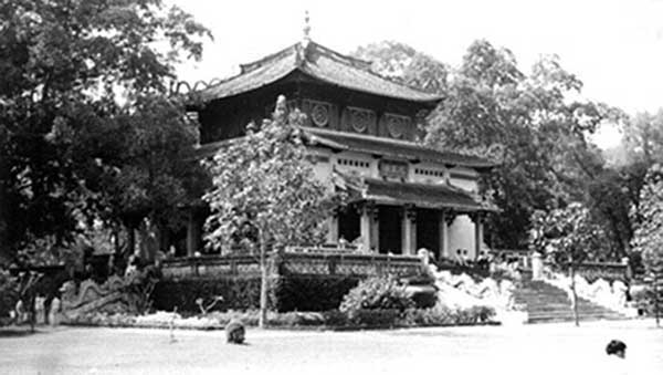 11. Ancient Palace. Photo by Kailey Wong, 1967-1968.