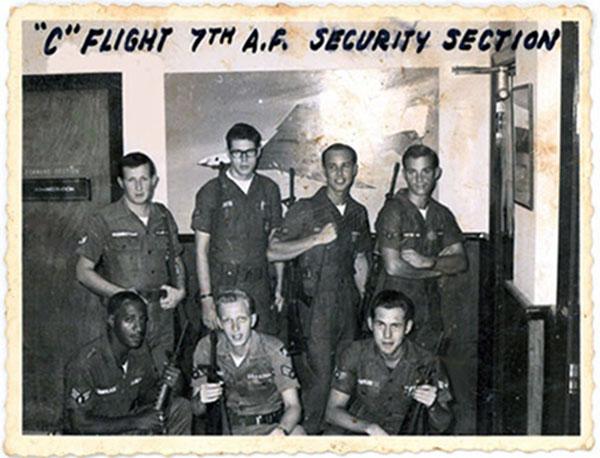 3. Tan Son Nhut AB: 7th HQ C-Flight, 377th SPS.Randy Stutler, 1965.1966.