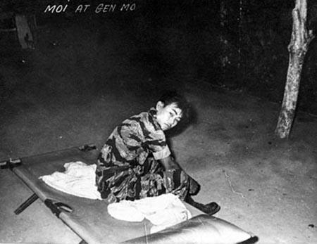 8. Tan Son Nhut AB: Nung Guard, Moi. Randy Stutler, 1965-1966.