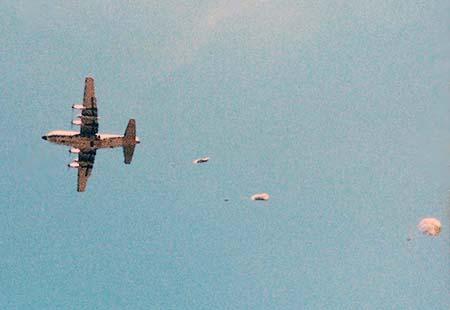 14. Tan Son Nhut AB: C-130. Randy Stutler, 1965-1966.