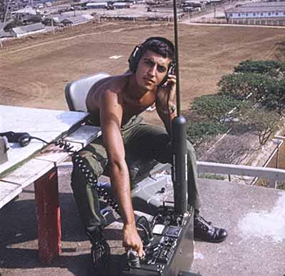 6. Tan Son Nhut AB, Hotel-3, Tango-1 Tower. 1968. Photo by: Steven Rivers, LM 482, TSN, 377th SPS, Tango-1; AFOSI, Dist 51 Bangkok. 1967-1968; 1973-1975