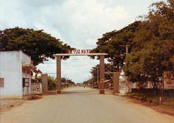 19. Tan Son Nhut AB, ARVN Gate post. Photo by: Russ Colombo, LM 275, TSN, 377th SPS, 1969-1970.