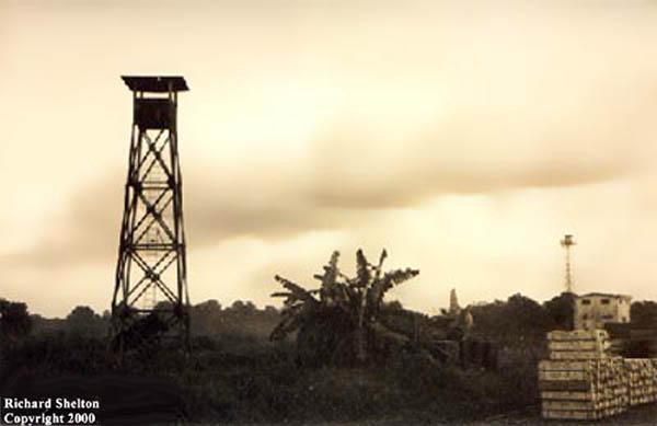 1. Tan Son Nhut AB, Perimeter Tower. 1966. Photo by: Richard Shelton, TSN, 377th SPS; BT, 632nd SPS. 1965-1966.