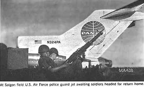 Guarding the stewardesses and milk at TSN, circa '66