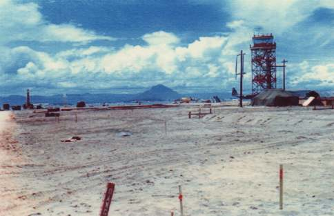 2. Tuy Hoa AB, Control Tower. 1966. Photo by: unknown.