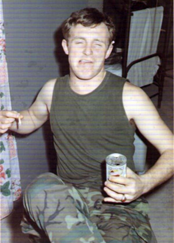 10. Tuy Hoa AB: Beer drinker, Ken deRussy. 1969-1970.