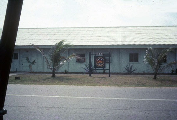 1. Tuy Hoa AB: 31st SPS HQ. Photo by Sgt. deWhite. 1969-1970.