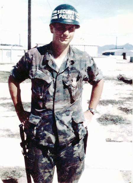 2. Tuy Hoa AB: Sgt deWhite. Photo by Sgt deWhite. 1969-1970.