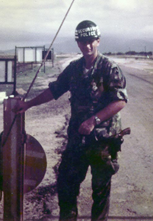 3. Tuy Hoa AB: Sgt deWhite. Photo by Sgt deWhite. 1969-1970.