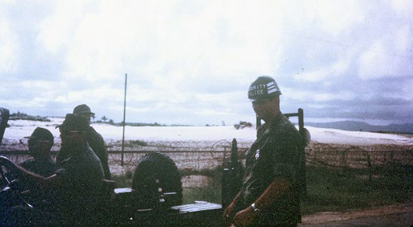8. Tuy Hoa AB: QRT Jeep. Photo by Sgt deWhite. 1969-1970.