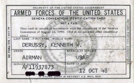 24. Geneva Conventions Card.