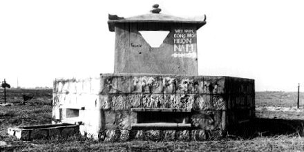7. Tuy Hoa AB, Perimeter BunkerTower (French). 1968-1969. Photo by: Don Graham, LM 7, TUY, 31st SPS, 1968-1969.