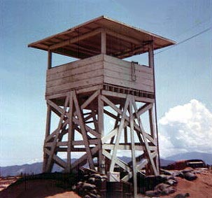 6. Tuy Hoa AB, Perimeter Tower, Osacr-11. Photo by: Don Graham, LM 7, TUY, 31st SPS, 1968-1969.
