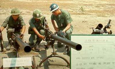 17. Tuy Hoa AB, Security Police Heavy Weapons. Photo by: Larsen,TUY, 31st SPS.