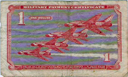 26. MPC: One Dollar (back).