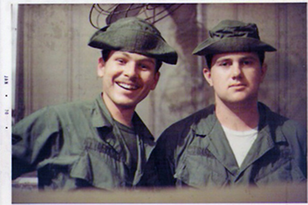 6. Tuy Hoa AB: Paul Babcock and Ken deRussy. 1969-1970.
