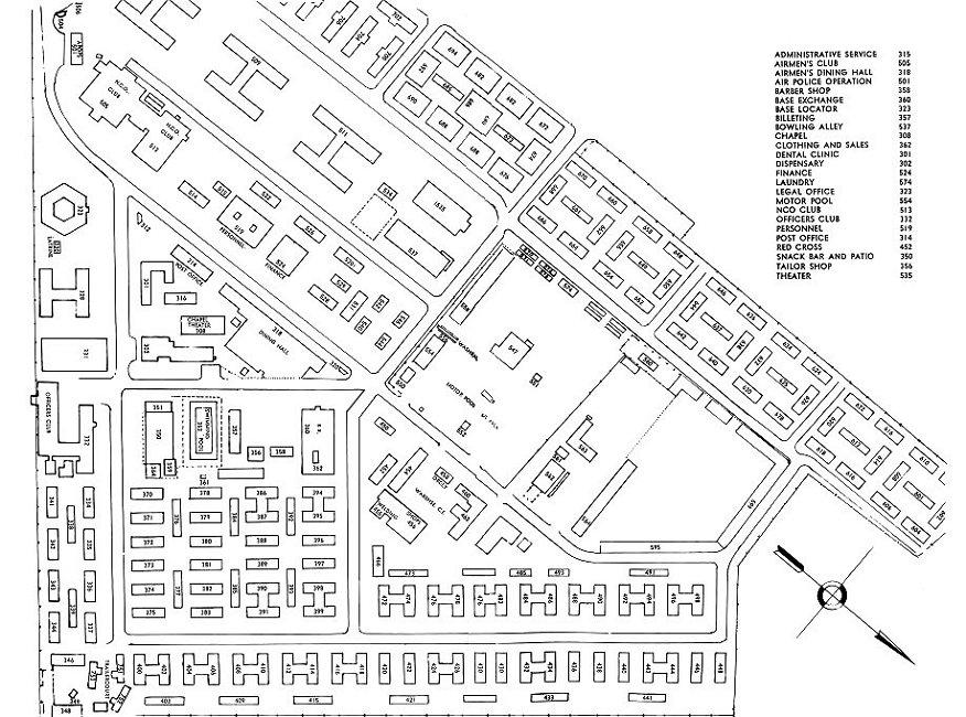 Ubon RTAFB Map