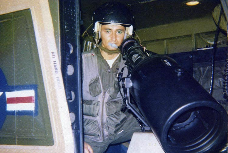 "5. A1C (E4) Tucker, NOD HH-43F Huskie, Call Sign: ""EAGLE ONE."""