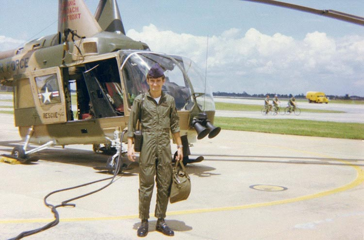 9. Departing Air Reconnaissance Flight, Pedro 34.