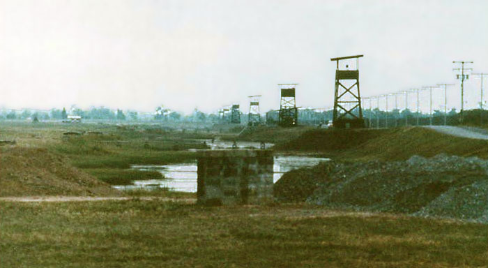 1. Udorn RTAFB, Perimeter Towers. Photo by: unknown.
