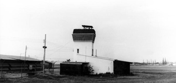 7. Udorn RTAFB. Old Japanese Tower-Bunker. Photo by: Steve Crane, LM 253, UD, 432nd SPS K9. 1969-1970.