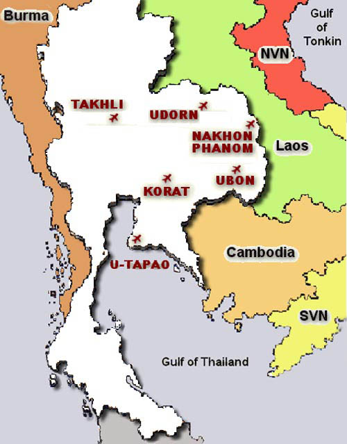 Takhli Base Map http://www.pic2fly.com/Takhli+Thailand+Map.html
