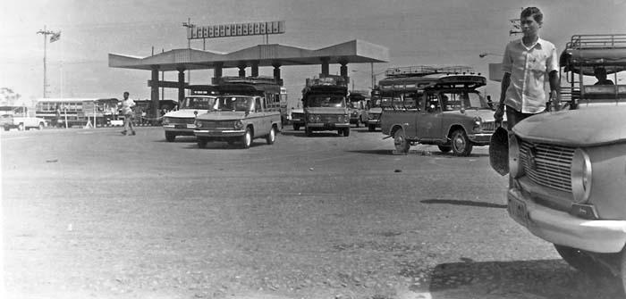 6. U-Tapao RTAFB, Main Gate. Photographer: Dennis Allyn. 1969.