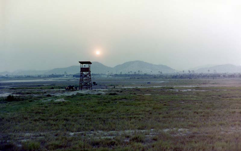 7. U-Tapao RTAFB, Runway Perimeter Tower-1. 1972. Photo by: John Homa, KRT, 388th SPS K9; UT, 635th SPS K9. 1968-1969.