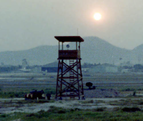 6. U-Tapao RTAFB, Perimeter Tower-2. 1972. Photo by: John Homa, KRT, 388th SPS K9; UT, 635th SPS K9. 1968-1969.